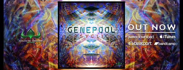 Party Flyer Genepool - Full moon psytrance Ireland 2018 7 Sep '18, 21:00