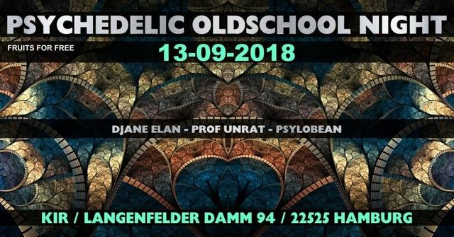 ॐ Psychedelic Oldschool Night ॐ 13 Sep '18, 22:00