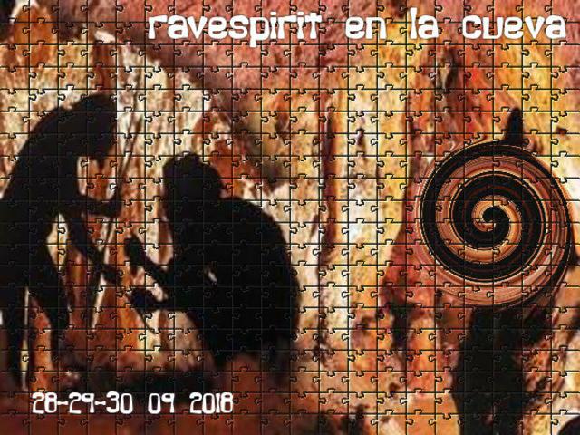 Party Flyer ravespirit en la cueva 28 Sep '18, 22:00