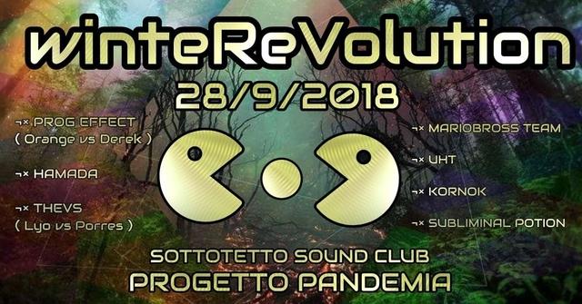Party Flyer WinteRevolution VOL. I ॐ 28 Sep '18, 22:00