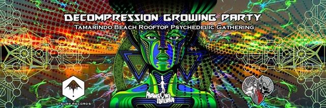 Party Flyer Decompression Growing Party ♡ (Tamarindo Beach. Indor/ outdoor) 29 Sep '18, 22:00