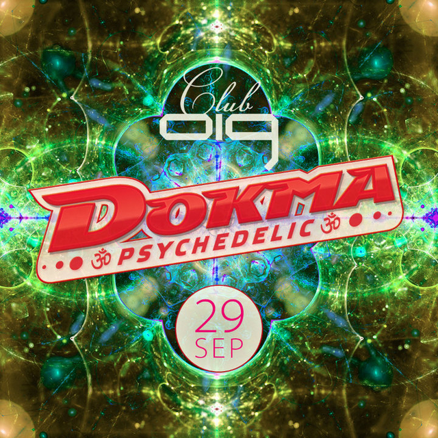 Party Flyer DOKMA - Psychedelic 29 Sep '18, 22:00