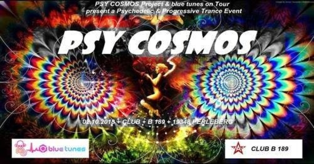 Party Flyer PSY COSMOS 2 Oct '18, 21:00