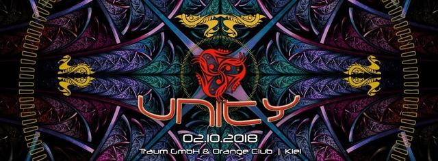 Party Flyer UNITY 9 2 Oct '18, 22:00