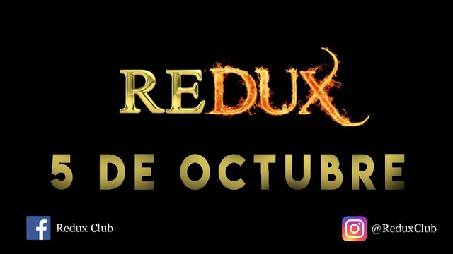 Party Flyer Redux Party 5 Oct '18, 23:30