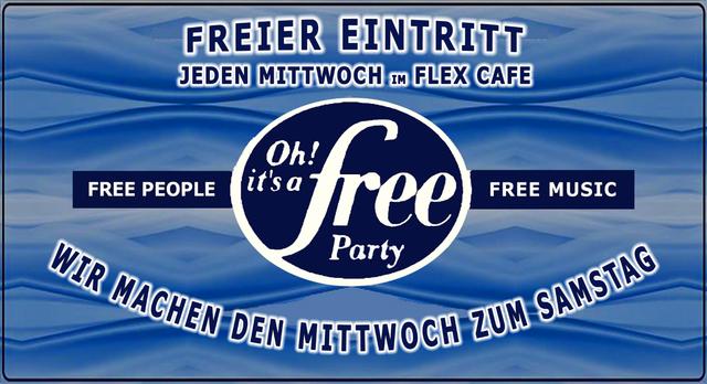 Oh It's a Free Party - 10. Oktober 2018 - Freier Eintritt 10 Oct '18, 23:00