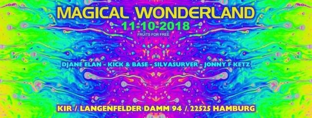ॐ Magical Wonderland ॐ 11 Oct '18, 22:00