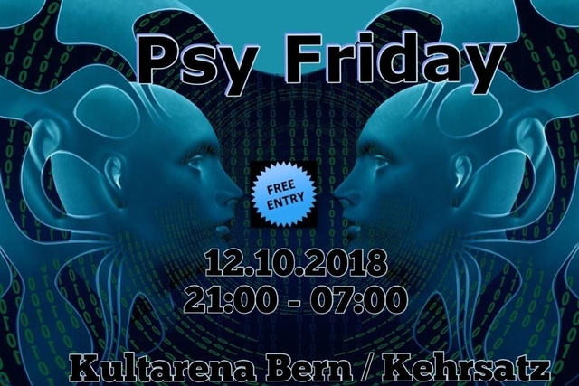 Party Flyer Psy Friday 12 Oct '18, 21:00
