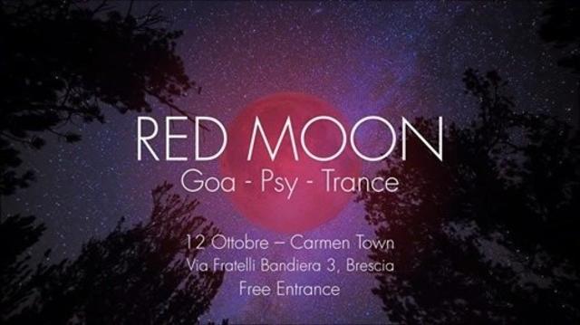 Red Moon - Goa Night   Carmen Town 12 Oct '18, 22:00