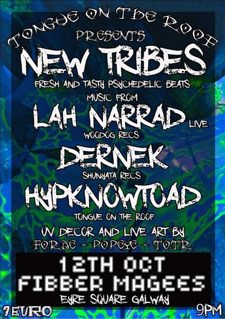 Tongue on the roof present New tribes 12 Oct '18, 21:00