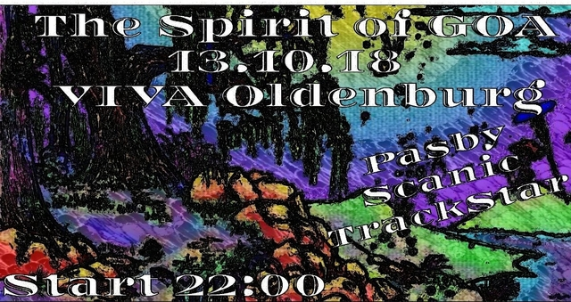 Party Flyer Spirit of GOA 2.0 13 Oct '18, 22:00