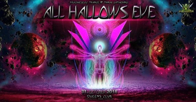 Party Flyer Psybox - All Hallows Eve 2018 ॐ 31 Oct '18, 22:00