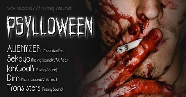 Party Flyer Psylloween 31 Oct '18, 21:00