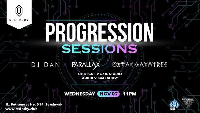 Party Flyer Progression Sessions 7 Nov '18, 23:00