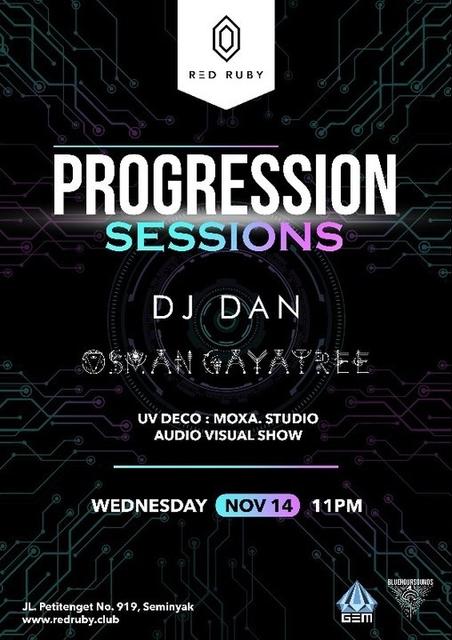 Party Flyer Progression Sessions 14 Nov '18, 23:00