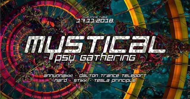 Party Flyer MYSTICAL PSY GATHERING 17 Nov '18, 23:00