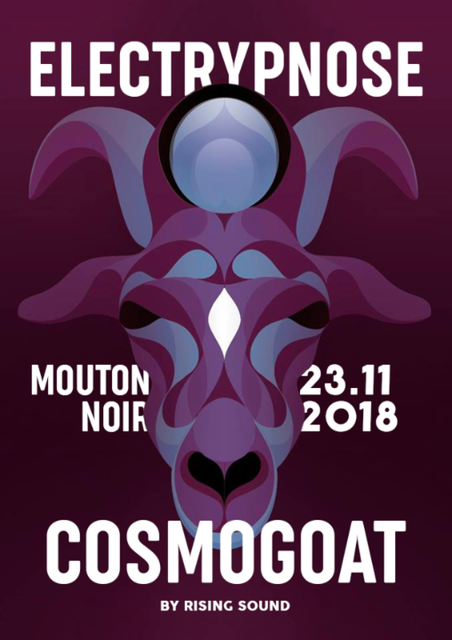 Party Flyer Cosmogoat #7 w/ Electrypnose 23 Nov '18, 22:00