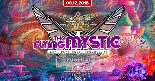 Party Flyer THE FLYING MYSTIC - Flight 7 - 8 Dec '18, 22:00