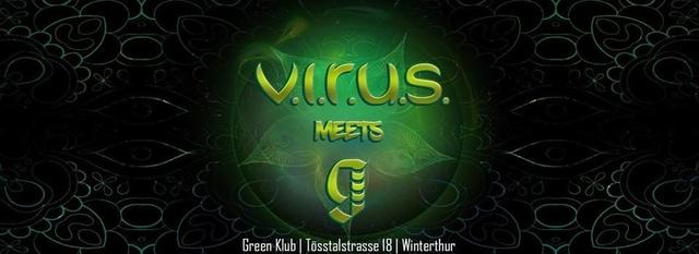 V.I.R.U.S.meets Green CLUB 8 Dec '18, 22:00