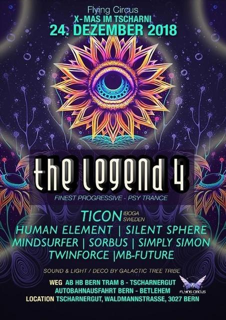 Party Flyer X-MAS // The Legend 4 24 Dec '18, 22:00