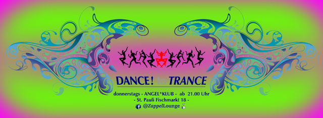 Party Flyer DANCE to TRANCE 3 Jan '19, 21:00