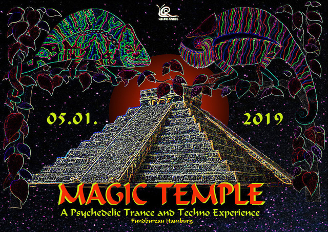 Party Flyer Magic Temple 5 Jan '19, 23:00