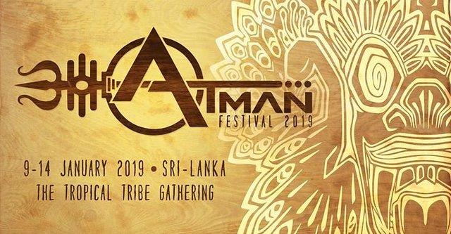 Party Flyer Atman Festival 2019 9 Jan '19, 18:00