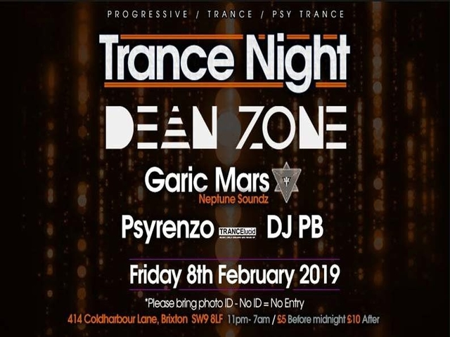 Party Flyer Club 414 Presents Trance Night (Trance & Psy Trance) 8 Feb '19, 23:00