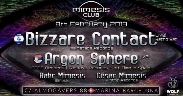 Party Flyer Mimesis CLUB 8 Feb '19, 23:30