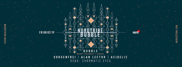Party Flyer Nordtribe w/ Bubble 8 Feb '19, 23:00