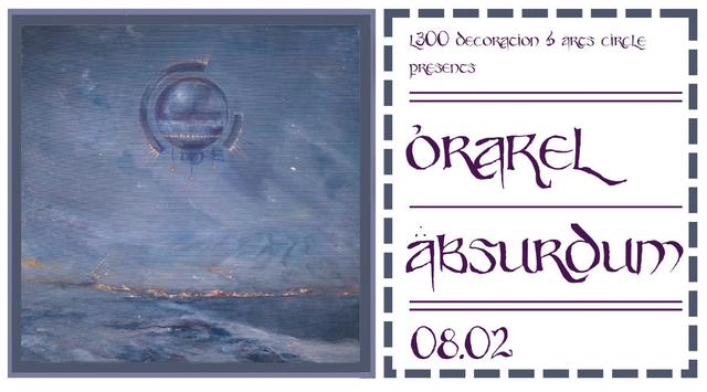 Party Flyer Orakel Absurdum w/ Kala & Hashashin 8 Feb '19, 23:00