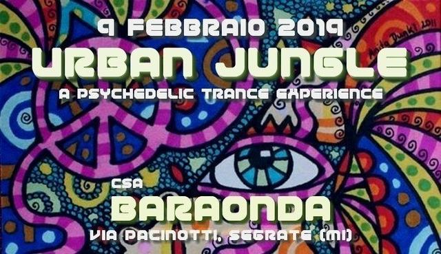 Party Flyer Urban Jungle - Indoor party 9 Feb '19, 22:30