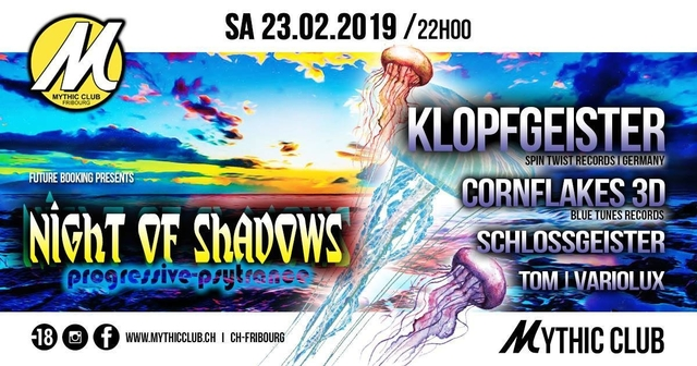 Party Flyer Night of Shadows 23 Feb '19, 22:00