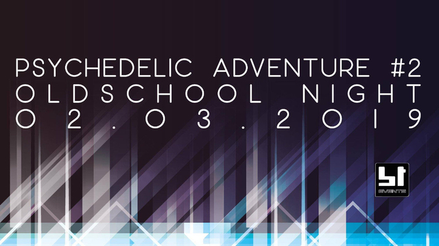 Party Flyer Psychedelic Adventure #2   Oldschool Goa Night 2 Mar '19, 23:00