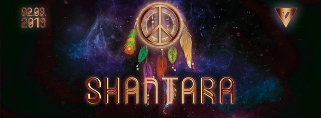 Party Flyer ૐ Shantara ૐ 2 Mar '19, 23:00