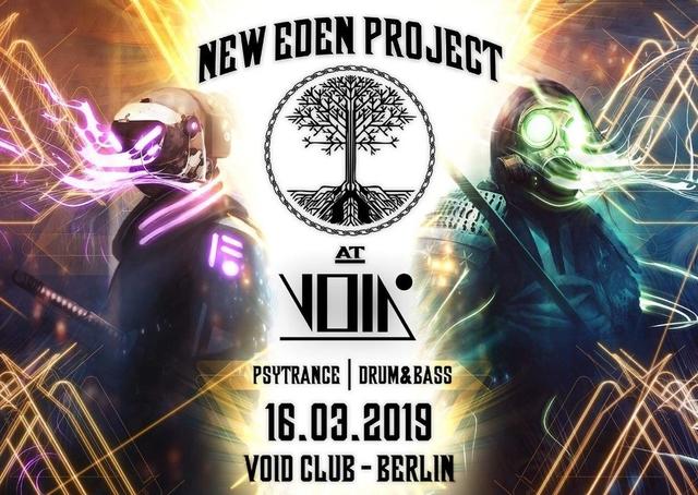 Party Flyer New Eden @ Void 16 Mar '19, 23:00