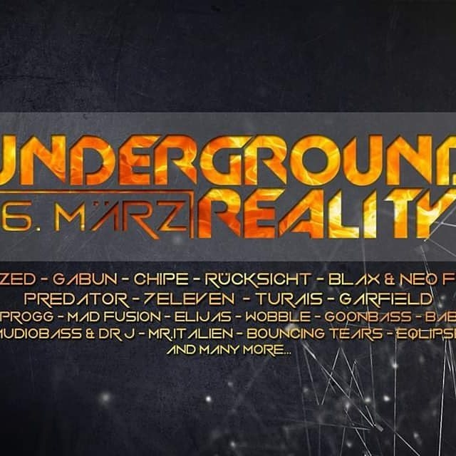 Party Flyer Ounderground Reality 16 Mar '19, 22:00