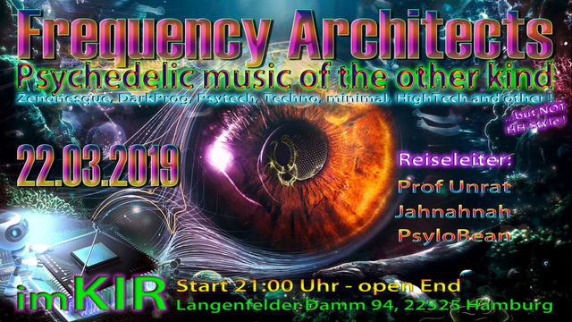 Party Flyer Frequency Architect 22 Mar '19, 21:00