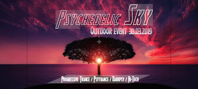 Party Flyer Psychedelic Sky 30 Mar '19, 21:00