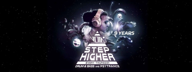 Party Flyer Step higher 11 Apr '19, 23:00
