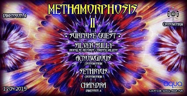 Party Flyer Methamorphosis II 12 Apr '19, 22:00