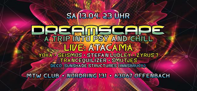 Dreamscape with Atacama 13 Apr '19, 23:00