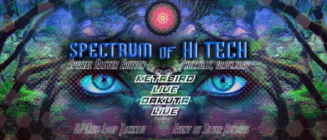Party Flyer Spectrum of Hi Tech 19 Apr '19, 22:00