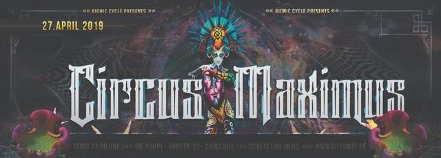 Circus Maximus 2019 27 Apr '19, 22:00