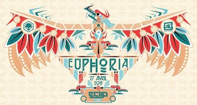 Euphoria #9 w/ E-Clip (TesseracT Studio) 27 Apr '19, 23:30