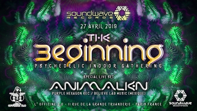 The Beginning - Psychedelic Indoor Gathering 27 Apr '19, 23:30