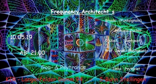 Party Flyer Frequency Architect`s 10 May '19, 21:00
