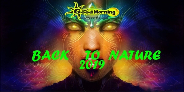 Party Flyer BACK TO NATURE 2019 Free Party 11 May '19, 23:00