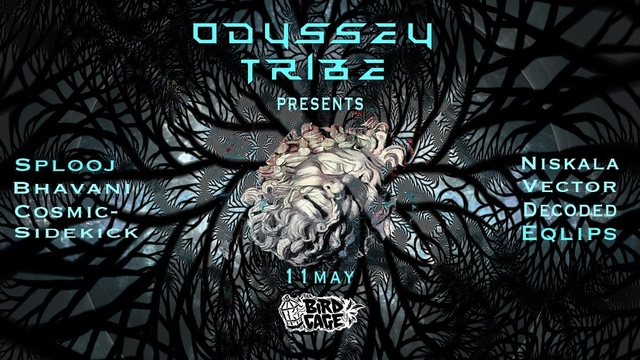 Party Flyer Odyssey Tribe 11 May '19, 22:00