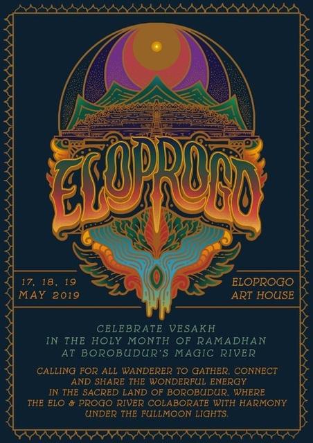 Party Flyer Eloprogo Transformative Gathering 17 May '19, 16:00